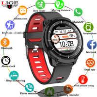 2019 nouveau IP68 Sport mode Bluetooth montre intelligente hommes femmes podomètre moniteur de fréquence cardiaque surveillance de la pression artérielle montre de Fitness