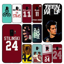 Caixa Do Telefone para Samsung Galaxy A6 Teen Wolf Stilinski A8 Plus A7 A9 2018 A5 2017 18 J530 J7 J8(China)
