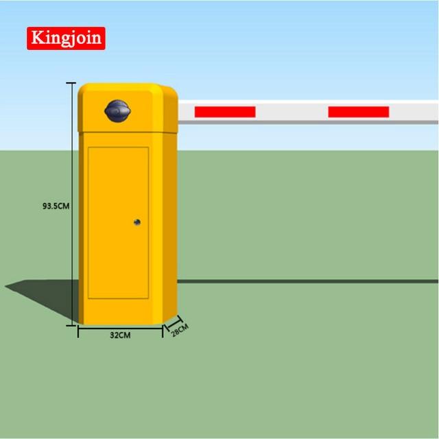 Opérateur de barrières à bras unique   Barrière mécanique de haute qualité, barrière de stationnement sécurisée et sans Collision, responsabilité industrielle