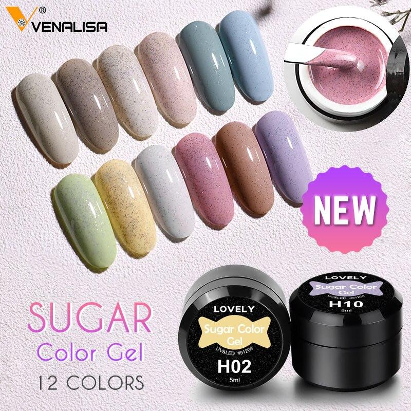 Гель лак Venalisa для ногтей с зеленым авокадо, блестящий Гель лак для ногтей нового цвета, полуперманентный лак|Гель для ногтей|   | АлиЭкспресс