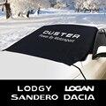Лобовое стекло автомобиля снежного льда пыли Блок козырек от солнца крышка для Dacia Duster 1,0 Tce LPG Logan Stepway Lodgy Sandero авто аксессуары