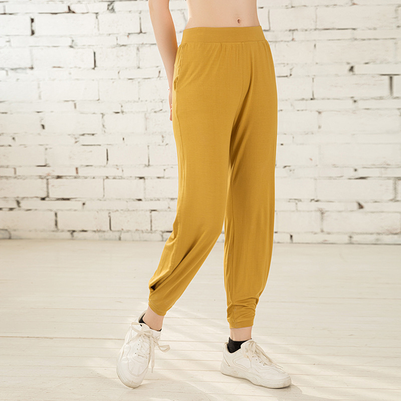 New Women Sports Pants  Loose Workout Trousers Gym Running Pants Fitness Sportswear Baggy Quick Dry Pants High Waist Leggings