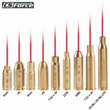 Красная точка лазерная латунь Boresighter CAL .223/5.56/9 мм/308/7.62/.45/30-06 патрон Boresight для винтовки прицел охотничьи пистолеты аксессуары