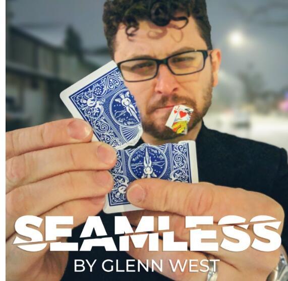 Seamless By Glenn West , Magic Tricks ,magic Instruction , No Props