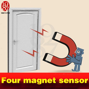 Image 3 - Tangram game props tools four magnet Same time version to release lock real life Room Escape puzzles open the magnetic lock