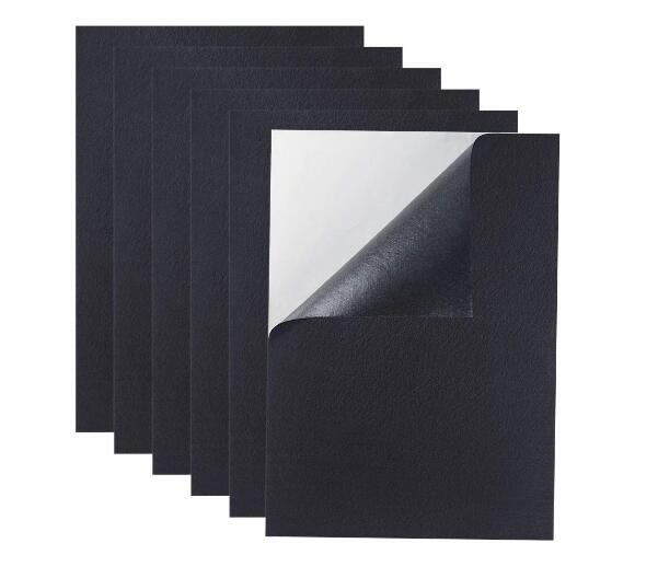 Size 145*210mm Fabric Sticky Back Felt Sheets Self Adhesive 2mm Thickness 2/10/20pcs You Choose Quantity