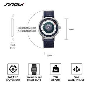 Image 4 - Sinobi moda criativa relógios masculinos bússola luminosa relógio esportivo masculino escalada caminhadas relógio de pulso de quartzo reloj hombre