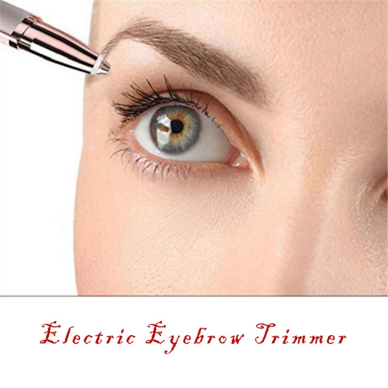 Eyebrow Trimmer Trymer Do Brwi Brow Tools Portable Electric Eyebrow Trimmer Depilador De Cejas Eye Brow Shaper Women Makeup