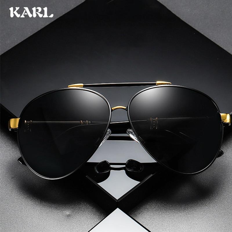 Classic Aviation Brand Designer Pilot Sunglasses Men Polarized Driving Metal Frame Sun Glasses Coating Mirror Shades UV400 in Men 39 s Sunglasses from Apparel Accessories