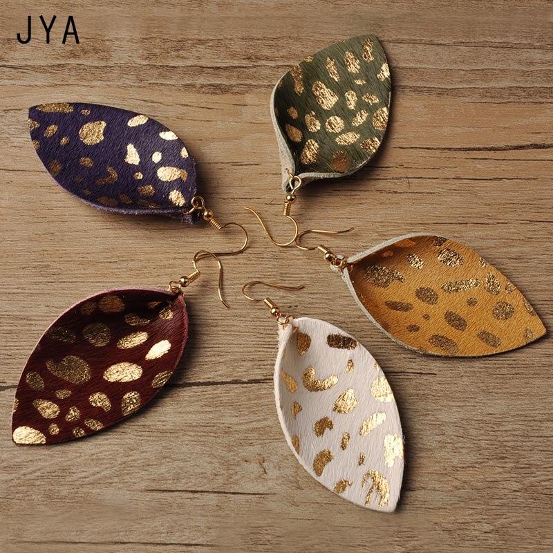 Long Fashion Leaf Earrings for Women