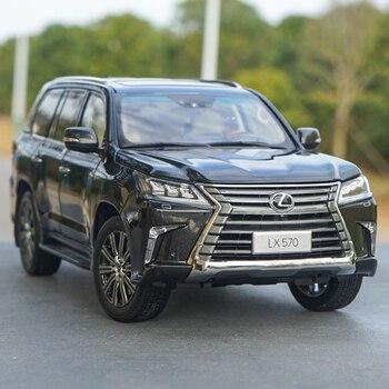 Hoge Kwaliteit Kyosho 118 LX570 2019 Diecast Off-Road Suv Auto Modellen Voor Gift, Collectie