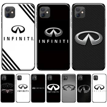Super Car Infiniti Logo Soft Silicone TPU Phone Cover For iphone 4 4s 5 5s 5c se 6 6s 7 8 plus x xs xr 11 pro max image