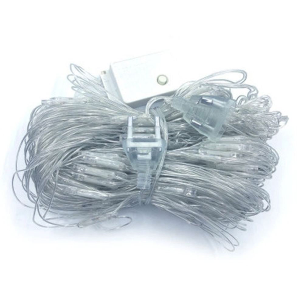 Net Mesh US Plug Fishing Net Lamp Flashing String Lights Durable Romantic Xmas Decor Waterproof Festival Garden 96 Led|Lighting Strings| |  - title=
