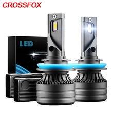 Crossfox canbus h8 h9 h11 led h7 автомобильные светильник ры