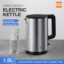 Xiaomi VIOMI Pro 1800W 1.5L Electric Kettle Intelligent Thermostat Anti-scalding Household 304 Stainless Steel Electric Kettle bubble milk insulation display temperature thermostat 304 stainless steel electric kettle