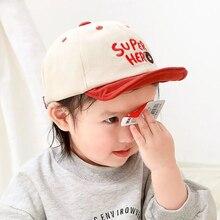 Newborn Baby Baseball Cap Cute Cartoon Toddler Boy Girl Sun Hat Embroidery Letter Hip Hop Hats Spring Casual Kids Caps 8 Months