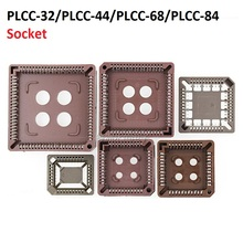 5PCS 집적 회로 어댑터 IC 소켓 PLCC 32 PLCC 44 PLCC 68 PLCC 84 기본적인 PLCC32 PLCC44 PLCC68 PLCC84 dip SOP SMD
