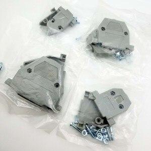 5 шт. DB9 DB15 DB25 DB37 разъем интерфейс пластиковый корпус оболочки