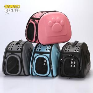 Image 1 - CAWAYI hodowla nosidełka dla zwierząt przenoszenie dla małych kotów psy torebka torba transportowa dla psów koszyk bolso perro torba dla psa honden tassen
