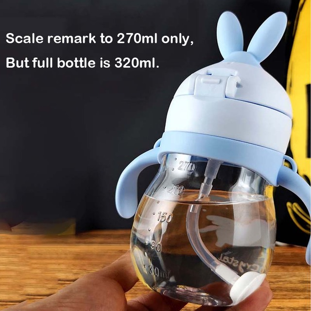 Leak-proof Water Bottle for Kids with Straw