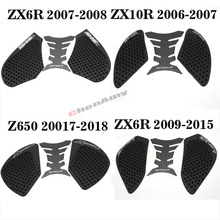Pad-Protector Sticker Motorcycle Decal Zx6r Kawasaki for ZX-10R Z650 Gas-Knee Grip-Tank