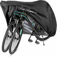 Bike Abdeckung Lagerung 2 Oder 3 Fahrzeug Wasserdichte Outdoor Fahrrad Abdeckungen Roller Protektoren