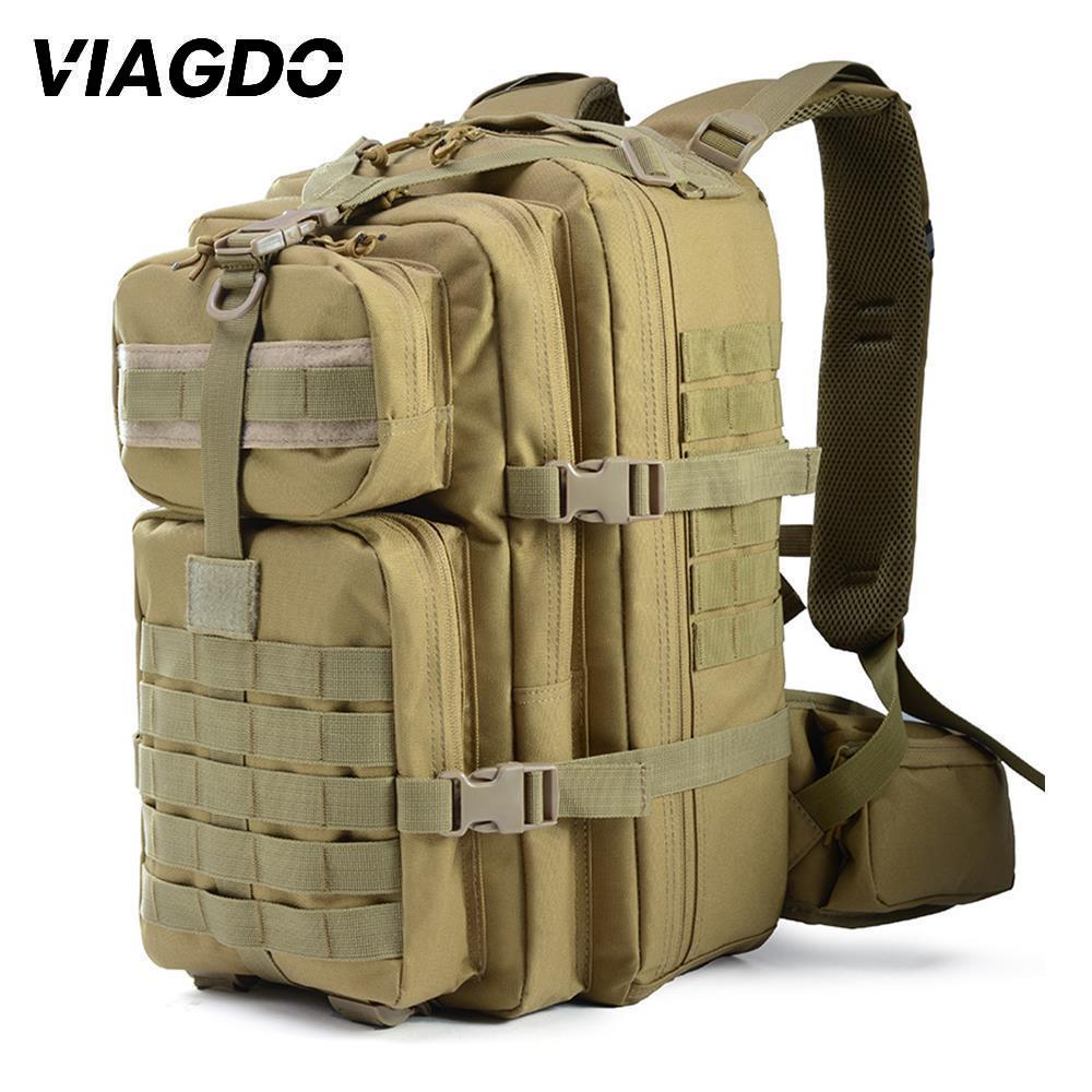 37L 900D Tactical Backpack Nylon Outdoor Military Rucksacks Waterproof Sports Camping Hiking Trekking Fishing Hunting Bags