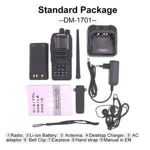 Image 5 - Dual Band Two Way Radio Baofeng Digitale DMR Ham Amateur Radio Station Transceiver DM 1701 Walkie Talkie Ebene 2 Dual Zeit slot
