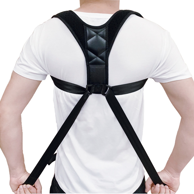 Men Women Adjustable Posture Corrector Back Support Strap Brace Shoulder Spine Support Lumbar Posture Orthopedic Belt