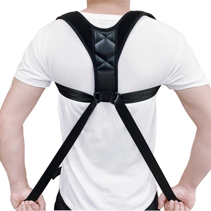 Men Women Adjustable Posture Corrector Back Support Strap Brace Shoulder Spine Support Lumbar Posture Orthopedic Belt