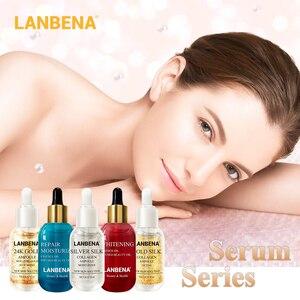 LANBENA Skin Serum Ampoule Essential Oil Hyaluronic Acid Face Cream Whitening Firming Moisturizing Nourishing Collagen Skin Care(China)