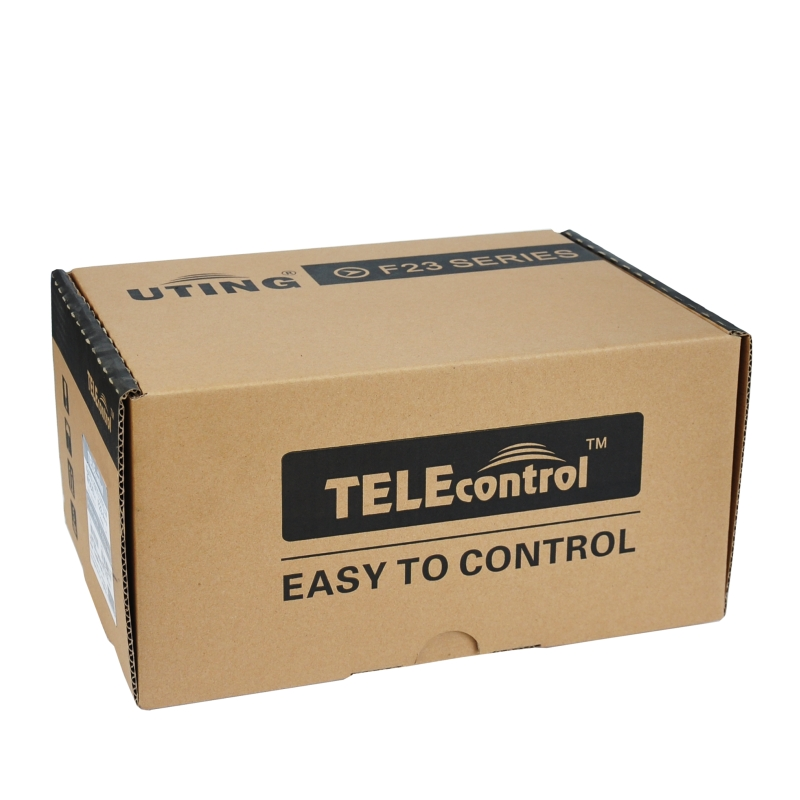 Telecrane Low cost 1 speed industrial remote control F26-C1 for electronic hoist mobile equipment with 1 transmitter and 1 recei