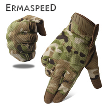 лучшая цена Pair Motorcycle Gloves Winter Tactical Camouflage Racing Bike Riding Gloves Women Motocross Enduro Gloves ATV