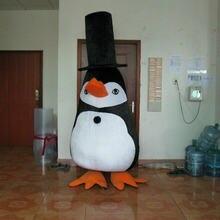 Костюм пингвина маскот карнавальный пушистый костюм вечерние