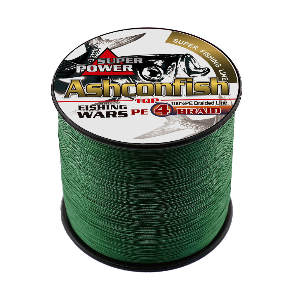 500M Brand new 4strands Japan Multifilament 100% PE supper strong <font><b>Braided</b></font> <font><b>Fishing</b></font> <font><b>Line</b></font> <font><b>6LB</b></font> -80LB <font><b>braided</b></font> wires for sea <font><b>fishing</b></font> image