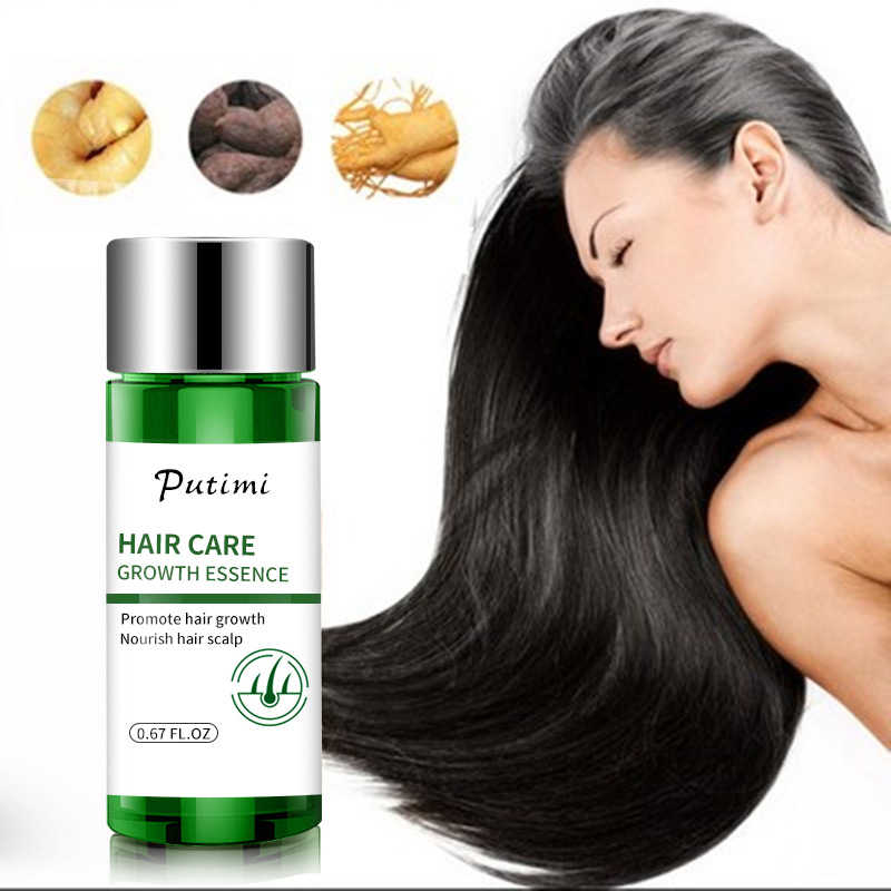 Magical Keratin Hair Treatment Maskได้อย่างมีประสิทธิภาพNatural Hair Growth Serum Fast Growth Essence Thickenป้องกันTSLM1