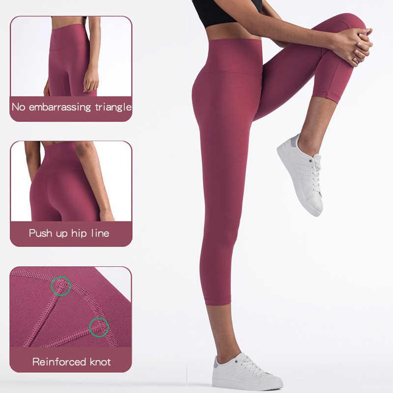 Nuls 2020 Liền Mạch Colorvalue Đẩy Lên Tập Gym Quần Legging Thể Thao Chạy Bộ Tập Thể Dục Quần Áo Tập Yoga Nữ Quần Legging Thể Thao Dài Thấm Hút Mồ Hôi Cho Nam