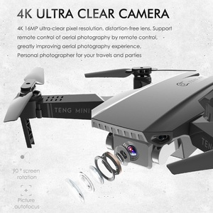 Image 3 - Teeggi M71 rcドローン 4 18k hdカメラ折りたたみミニquadcopter wifi fpv selfieドローンおもちゃ子供のためのdron vs SG106 SG107 E68 E58