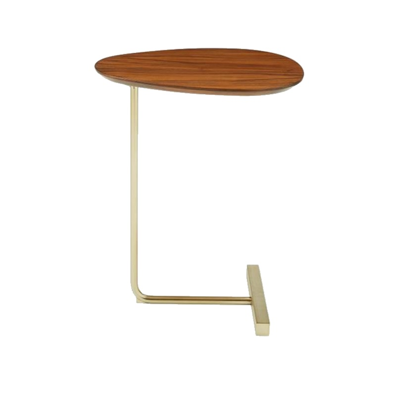 Nordic Minimalist Oval Mini Coffee Table Side Table Mobile Sofa Corner Several Lazy Bedside Table Bedside Table