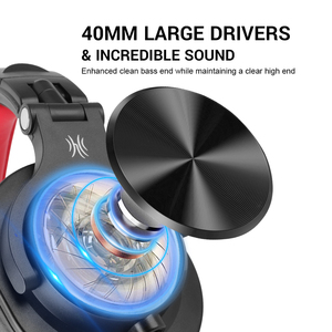 Image 2 - Oneodio A71 Original DJ Headphones Portable Wired Headset  with Music Share Lock  Stereo Headphone For Recording Monitor