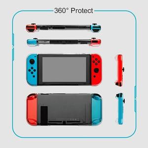 Image 2 - Gulikit NS17 przezroczysty kryształowy futerał na przełącznik Nintendo Lite przełącznik NS 360 Protector Shell kompatybilny z ROUTE AIR Dock