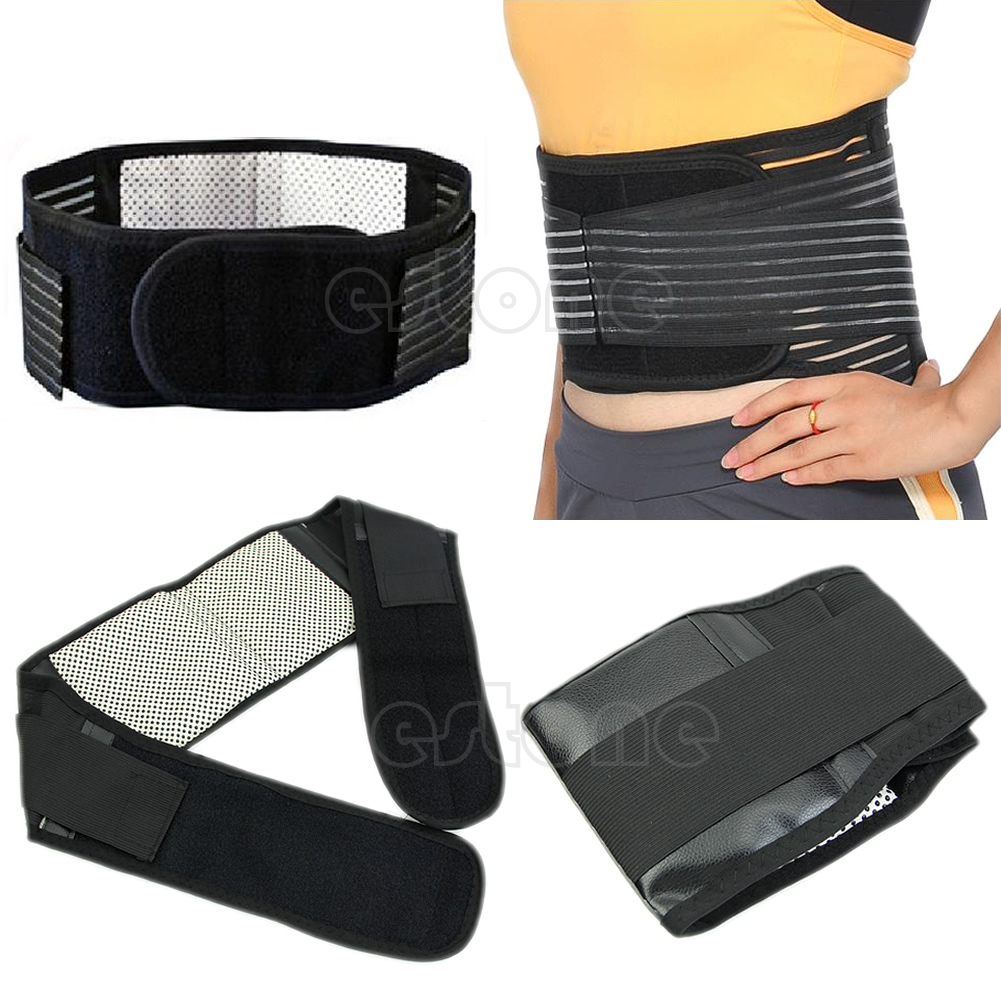 1 Pc Magnetic Heat Waist Therapy Belt Brace For Pain Relief Lower Back Support M89F