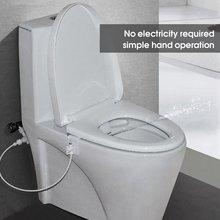 Спрей для пресной воды в туалете, неэлектрический ручной распылитель для биде для ванной комнаты, дома, отеля
