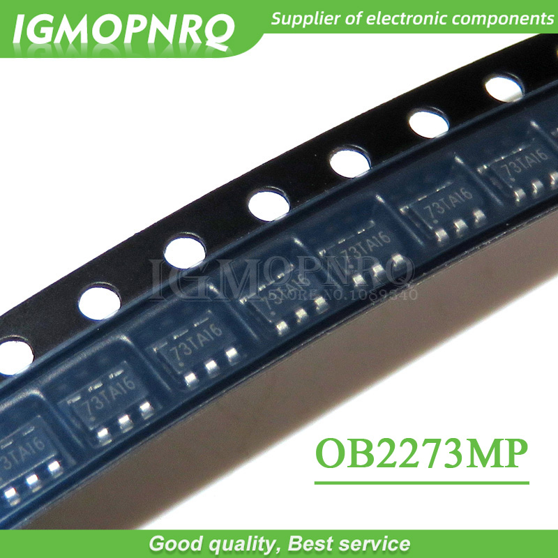 10PCS <font><b>OB2273MP</b></font> OB2273 SOT23-6 management LCD chip new original image