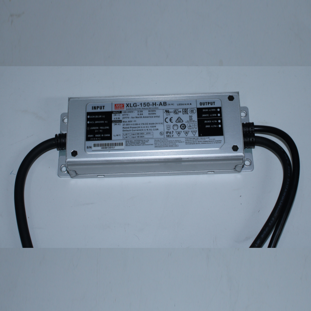 Meanwell Driver XLG-150-48A/B, XLG-240-48A/B,HLG-120-48A,HLG-240-48B QBoard Grow Light 120W/240W AC85-265V