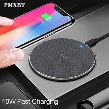 10W Rapida QI Caricabatterie Wireless Standard di Induzione Automatica di Ricarica Per il iPhone 11 Samsung Huawei Telefono trasporto Veloce di Carica Wireless Pad