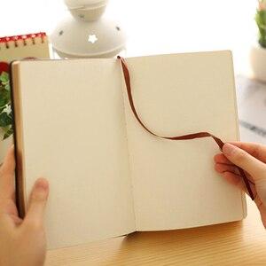 Image 3 - Bardzo grube Retro złoty obręcz zeszyt gładki sen wytłaczanie na gorąco miękki notatnik duży obraz napisz pamiętnik piśmiennicze dziennik prezent