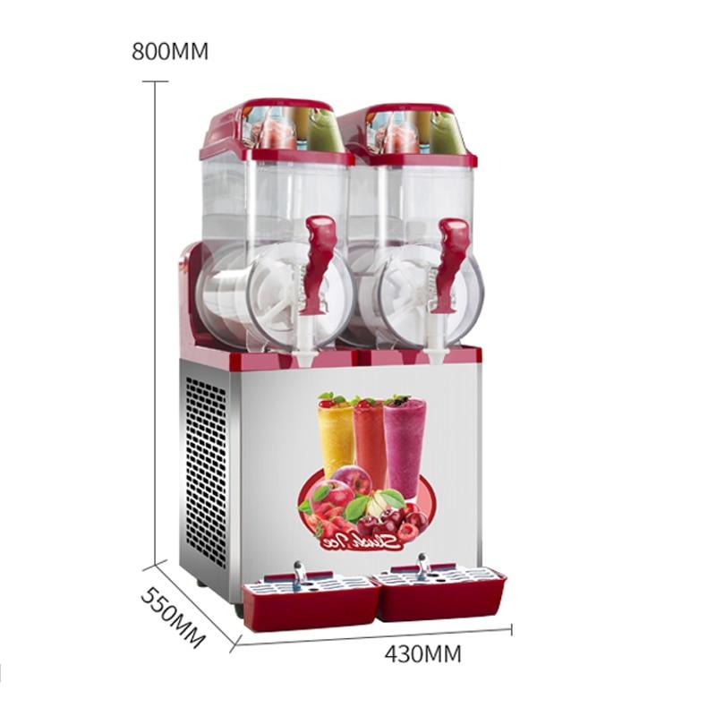 Food beverage Commercial Slush Machine Halalcity Mart