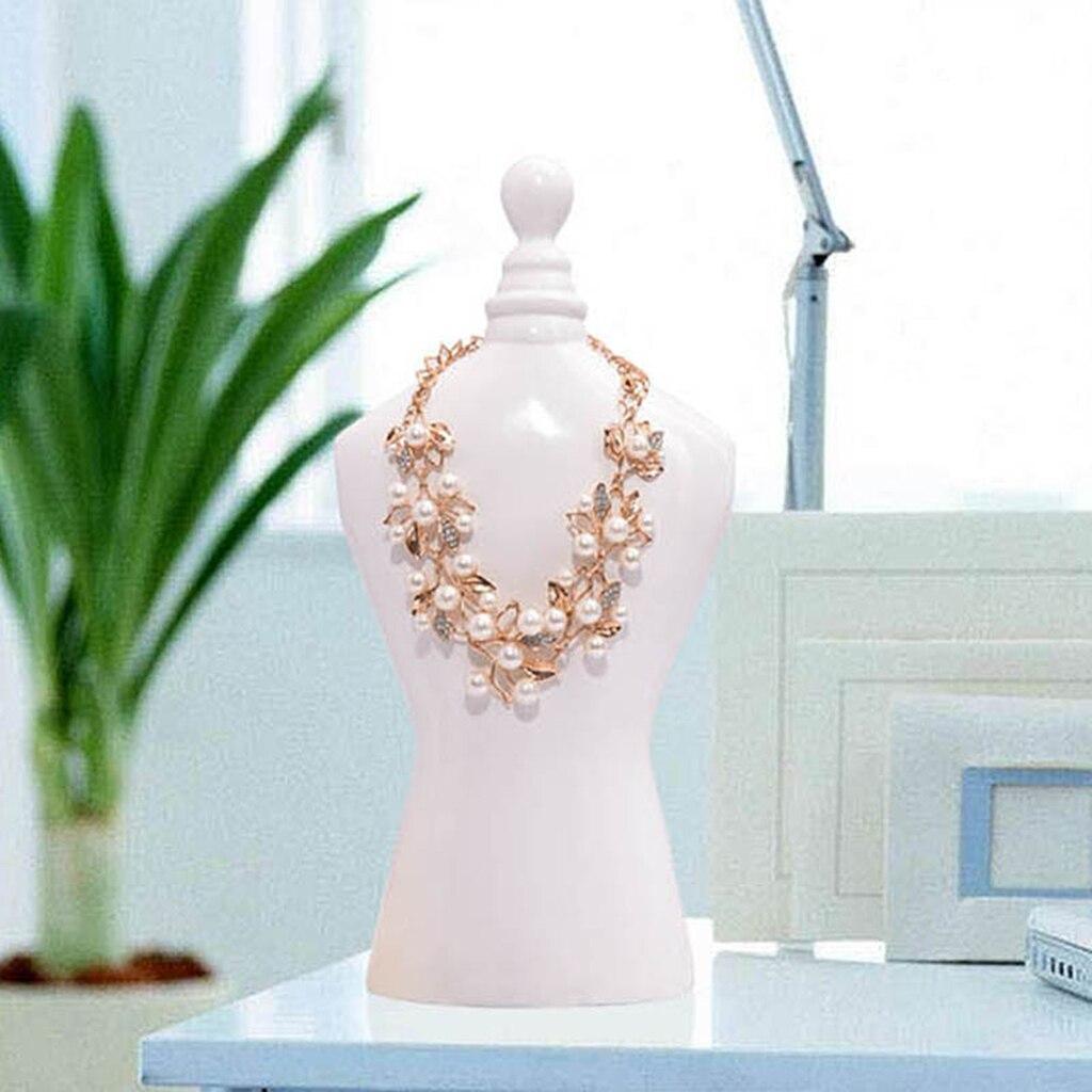 Style nordique résine buste bijoux suspendus support collier Bracelet cheville présentoir