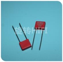 20PCS neue RED WIMA MKS2 12NF 100V P5MM 0,012 UF 123/100V Audio 123 mks 2 12n 0.012u 100v